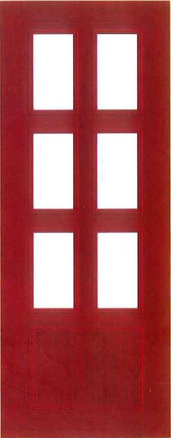 Plastic door PAK B16