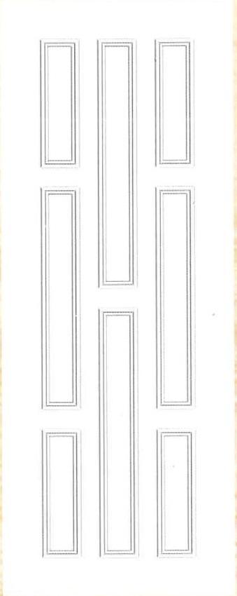 Plastic door PAK Z 08