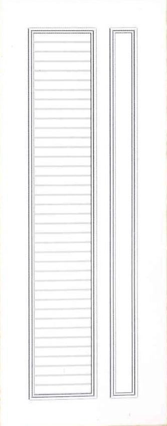 Plastic door PAK Z13