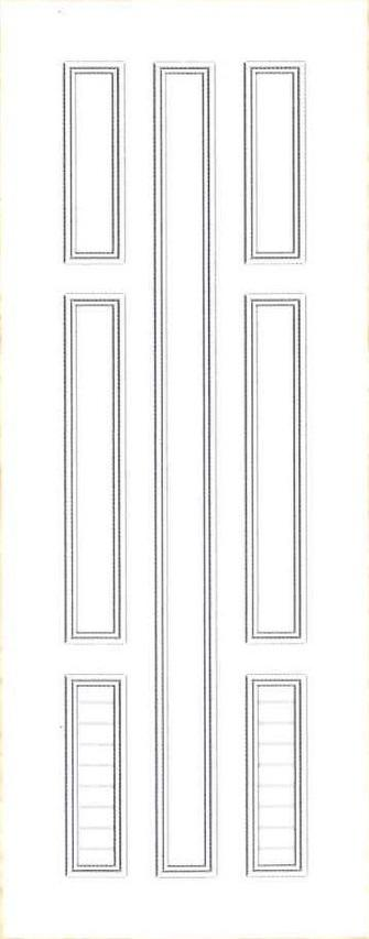 Plastic door PAK Z23