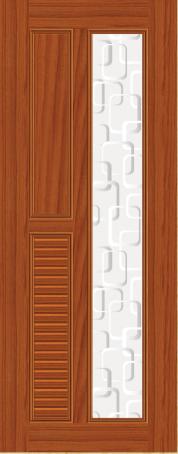 Plastic door PAK-O 02