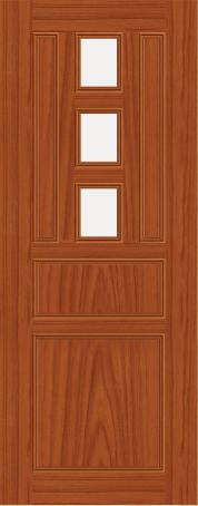 Plastic door PAK-O 42